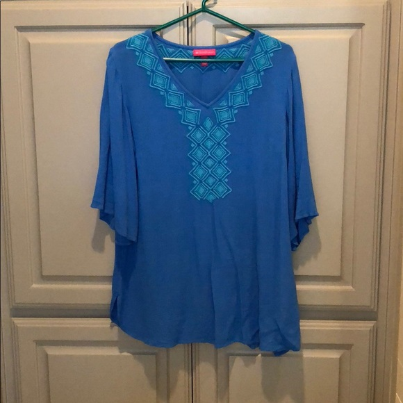 7d9435b1fd1 Lilly Pulitzer for Target Tops | Blue Tunic | Poshmark